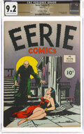 Golden Age (1938-1955):Horror, Eerie #1 The Promise Collection Pedigree (Avon, 1947) CGC NM- 9.2 Cream to off-white pages....