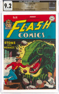 Golden Age (1938-1955):Superhero, Flash Comics #86 The Promise Collection Pedigree (DC, 1947) CGC NM- 9.2 Off-white to white pages....