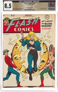 Flash Comics #92 The Promise Collection Pedigree (DC, 1948) CGC VF+ 8.5 Off-white pages