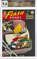 Golden Age (1938-1955):Superhero, Flash Comics #95 The Promise Collection Pedigree (DC, 1948) CGC NM+ 9.6 White pages....