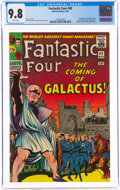 Silver Age (1956-1969):Superhero, Fantastic Four #48 (Marvel, 1966) CGC NM/MT 9.8 White pages....