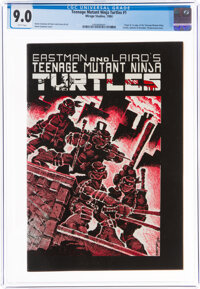 Teenage Mutant Ninja Turtles #1 (Mirage Studios, 1984) CGC VF/NM 9.0 White pages