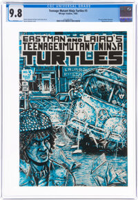 Teenage Mutant Ninja Turtles #3 (Mirage Studios, 1985) CGC NM/MT 9.8 White pages