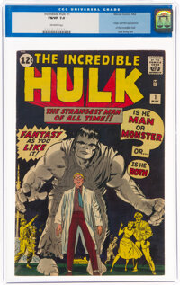 The Incredible Hulk #1 (Marvel, 1962) CGC FN/VF 7.0 Off-white pages
