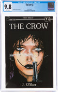 The Crow #1 (Caliber Press, 1989) CGC NM/MT 9.8 White pages