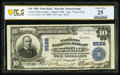 National Bank Notes:Pennsylvania, Newville, PA - $10 1902 Plain Back Fr. 626 The Farmers National Bank Ch. # 9588 PCGS Banknote Very Fine 25.. ...