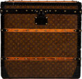 """Luxury Accessories:Travel/Trunks, Louis Vuitton Monogram Coated Canvas Square Trunk. Condition: 3. 26"""" Width x 25"""" Height x 24.5"""" Depth. ..."""