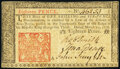 Colonial Notes:New Jersey, New Jersey March 25, 1776 18d Very Fine-Extremely Fine.. ...
