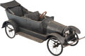 Collectible, Extremely Rare Ford Model T Convertible Touring Child's Car, 1920. Marks: 1920, CONN-1979. 75 x 28 x 27-3/4 ...