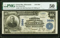 Green Bay, WI - $10 1902 Plain Back Fr. 626 The Citizens National Bank Ch. # 3884 PMG About Uncirculate