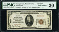 National Bank Notes:Pennsylvania, Low Serial Number 9 Youngwood, PA - $20 1929 Ty. 1...