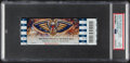 Basketball Collectibles:Others, 2020 Zion Williamson NBA Debut New Orleans Pelicans Full Ticket PSA Gem Mint 10....