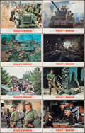 """Movie Posters:War, Kelly's Heroes (MGM, 1970). Very Fine. Lobby Card Set of 8 (11"""" X 14""""). War.. ... (Total: 8 Items)"""