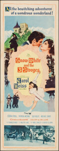 """Movie Posters:Comedy, Snow White and the Three Stooges (20th Century Fox, 1961). Folded, Fine/Very Fine. Insert (14"""" X 36""""). Comedy.. ..."""
