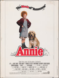 """Annie (Columbia, 1982). Rolled, Fine. Poster (30"""" X 40"""") Photo by Steve Steigman. Musical"""