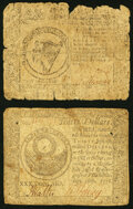 Continental Currency February 17, 1776 $8 Good-Very Good; Continental Currency September 26, 1778 $30 Fine-Very Fine...