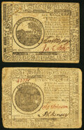 Continental Currency May 9, 1776 $6 Very Fine; Continental Currency May 9, 1776 $7 Fine-Very Fine. ... (Total: 2 notes)