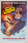 Movie Posters:War, Hell's Angels (United Artists, R-1949). Folded, Very Fine-...