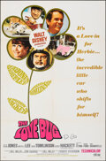 """Movie Posters:Comedy, The Love Bug & Other Lot (Buena Vista, 1969). Folded, Very Fine. One Sheets (2) (27"""" X 41""""). Comedy.. ... (Total: 2 Items)"""