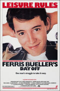 Movie Posters:Comedy, Ferris Bueller's Day Off (Paramount, 1986). Folded, Very F...