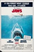"""Movie Posters:Horror, Jaws & Other Lot (Universal, R-1979). Folded, Fine/Very Fine. One Sheets (2) (27"""" X 41"""" & ) Roger Kastel Artwork. Hor..."""
