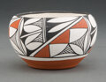 American Indian Art:Pottery, A Contemporary Acoma Polychrome Jar...