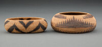 Two Pomo Coiled Bowls... (Total: 2 )