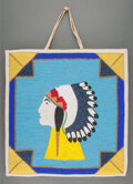 American Indian Art:Beadwork and Quillwork, A Plateau Pictorial Beaded Cloth Flat Bag ...