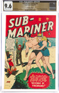 Golden Age (1938-1955):Superhero, Sub-Mariner Comics #25 The Promise Collection Pedigree (Timely, 1948) CGC NM+ 9.6 Off-white to white pages....