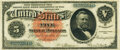 Large Size:Silver Certificates, Fr. 261 $5 1886 Silver Certificate PCGS Very Fine 20.. ...