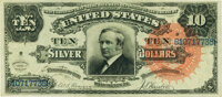 Fr. 294 $10 1886 Silver Certificate PCGS Extremely Fine 45