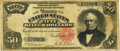 Large Size:Silver Certificates, Fr. 330 $50 1891 Silver Certificate PMG Choice Fine 15.. ...