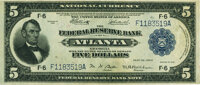 Fr. 792 $5 1918 Federal Reserve Bank Note PMG About Uncirculated 55