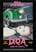 """Movie Posters:Rock and Roll, D.O.A. (High Times Films, 1980). Folded, Very Fine-. Poster (23"""" X 33"""") Soyka Artwork. Rock and Roll.. ..."""