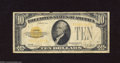 Small Size:Gold Certificates, Fr. 2400 $10 1928 Gold Certificate. Very Good.