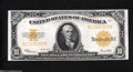 Large Size:Gold Certificates, Fr. 1173 $10 1922 Gold Certificate Gem New. This beautiful ...