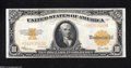 Large Size:Gold Certificates, Fr. 1173 $10 1922 Gold Certificate Very Choice New. This ...