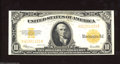 Large Size:Gold Certificates, Fr. 1173 $10 1922 Gold Certificate Extremely Fine. ...