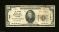 National Bank Notes:Colorado, Berthoud, CO - $20 1929 Ty. 1 The Berthoud NB Ch. # ...