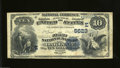 National Bank Notes:Maryland, Oakland, MD - $10 1882 Date Back Fr. 545 The First NB ...
