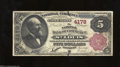 National Bank Notes:Missouri, Saint Louis, MO - $5 1882 Brown Back Fr. 474 The NB of ...