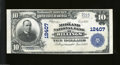 National Bank Notes:Montana, Billings, MT - $10 1902 Plain Back Fr. 635 The Midland ...