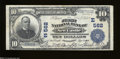 National Bank Notes:Pennsylvania, New Castle, PA - $10 1902 Plain Back Fr. 624 The First ...