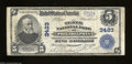 National Bank Notes:Pennsylvania, Philadelphia, PA - $5 1902 Plain Back Fr. 599 The Tenth ...