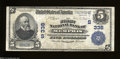 National Bank Notes:Tennessee, Memphis, TN - $5 1902 Plain Back Fr. 598 The First NB ...