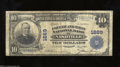 National Bank Notes:Tennessee, Nashville, TN - $10 1902 Plain Back Fr. 628 The Fourth & ...