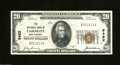 National Bank Notes:West Virginia, Fairmont, WV - $20 1929 Ty. 1 The NB of Fairmont Ch. # ...