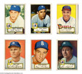 Baseball Cards:Lots, Baseball 1952 Topps (27ct.) Baseball Card Lot UnCertified. ...