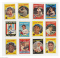 Baseball Cards:Sets, Baseball 1959 Topps Baseball Set (572ct.) EX UnCertified. ...