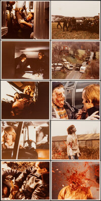 """Dawn of the Dead (Laurel Group, 1977/1978). Overall: Fine/Very Fine. Color Photos (26) (8"""" X 10""""), Behind-the-..."""
